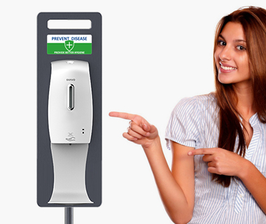 Features | Hygienic Scenarios with SVAVO's Hand Sanitizer Dispenser