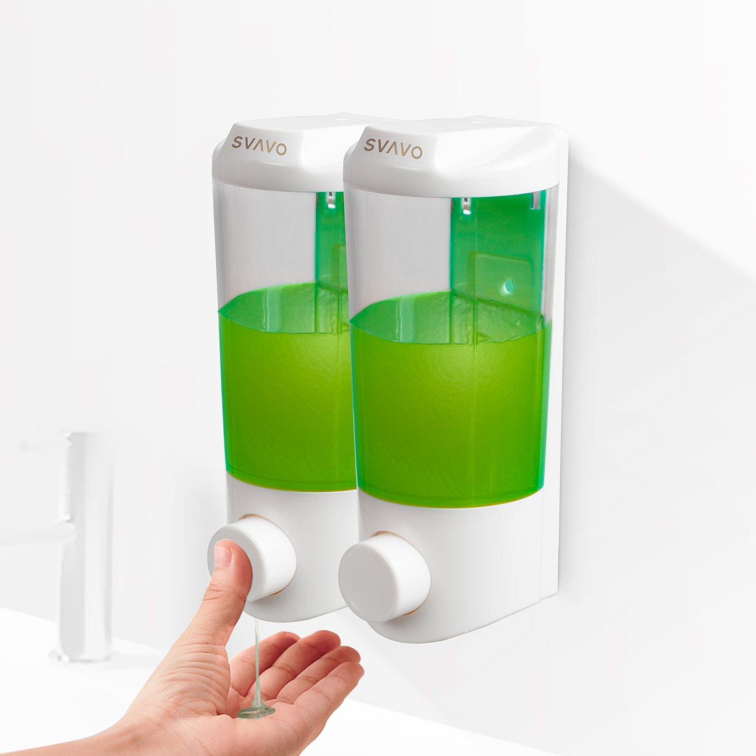 Bathroom Soap and Lotion Holder V-9122