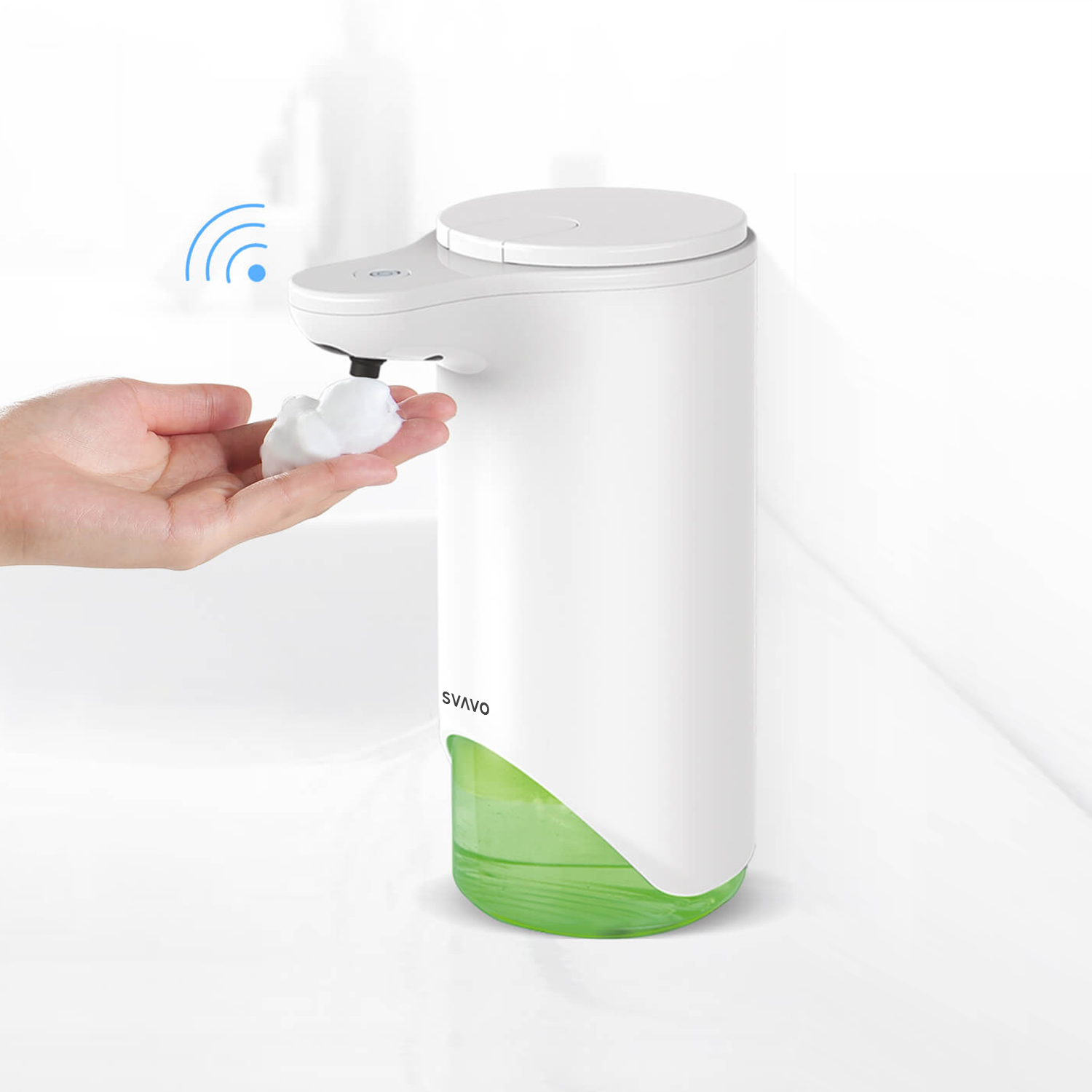 Tabletop Hands Free Foaming Soap Dispenser V-370