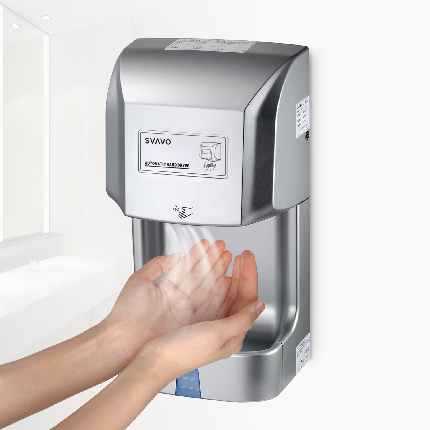 ABS Modern Hand Dryer V-184S