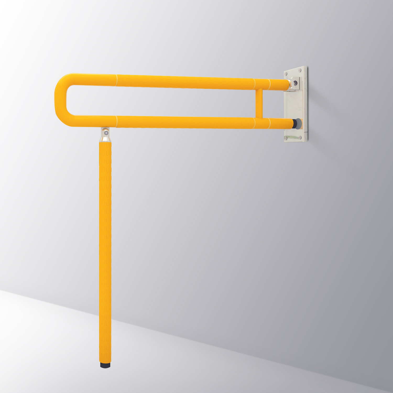 Foldable Disabled Toilet Handrails V-H600FS-R